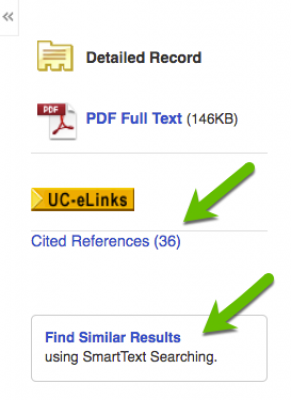 images in Academic Search Complete, other search options