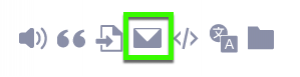 images for email icon in CREDO